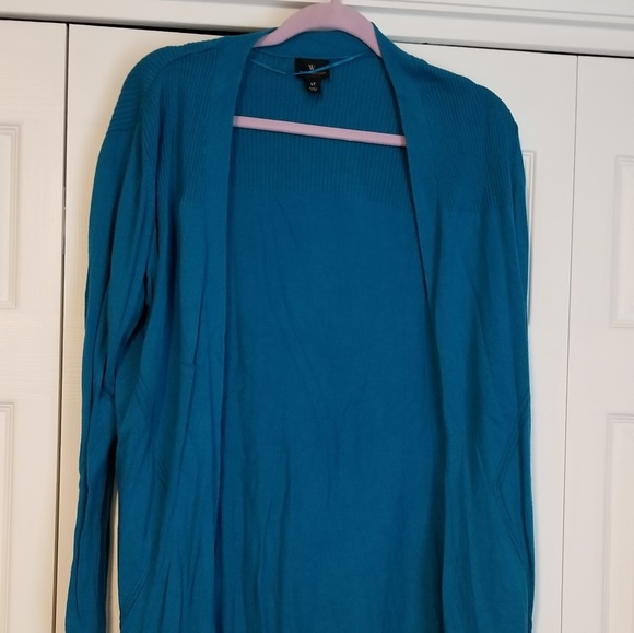 Worthington Sweaters - Worthington Open Front Cardigan
